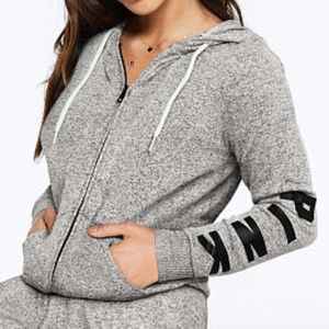 VS PINK Cozy Perfect Full-Zip Hoodie